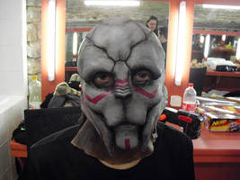 Turian's latex mask
