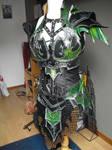 druchii female armor and the costume (unfinish) 2