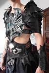 Druchii male leather armor (in progress)