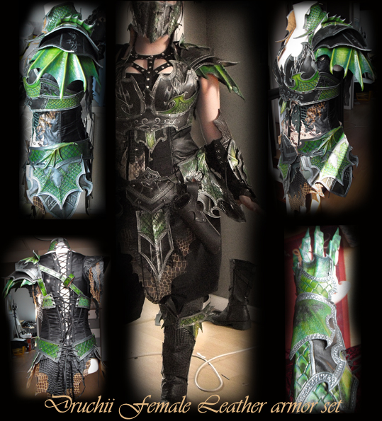 Female Armor Set by Deakath