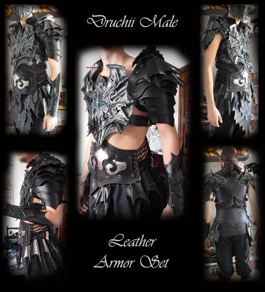Male Armor Set by Deakath