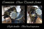 Commission : Chaos Tzeentch Armor - Shoulder 1