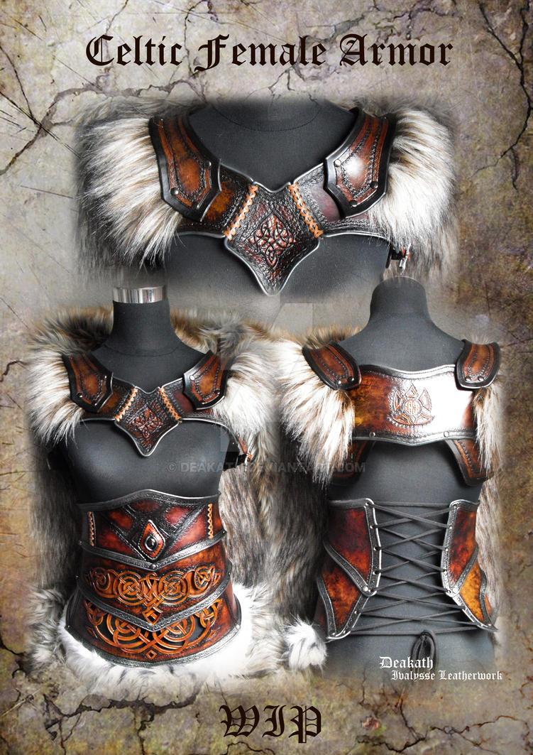 Celtic Female Armor set - WIP by Deakath