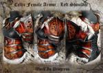 Celtic Female Armor Shoulder - WIP