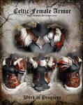 Celtic Female Armor set - WIP 2