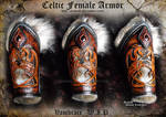 Celtic Female Armor Vambraces - WIP