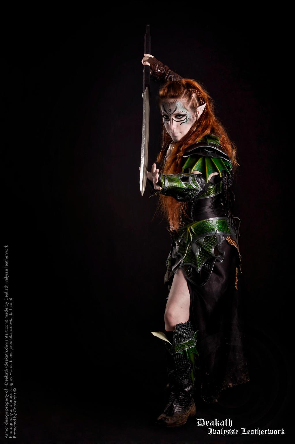 Photoshoot 2013 : Druchii female Armor