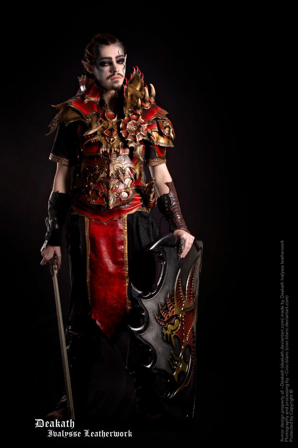 Photoshoot 2013 : Chaos Male Armor