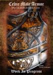 Celtic Male Armor : Torso WIP 1