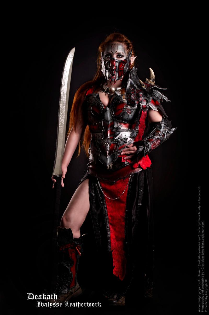 Photoshoot 2013 : Chaos Female Armor