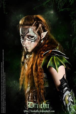 Druchii Female Armor by Deakath