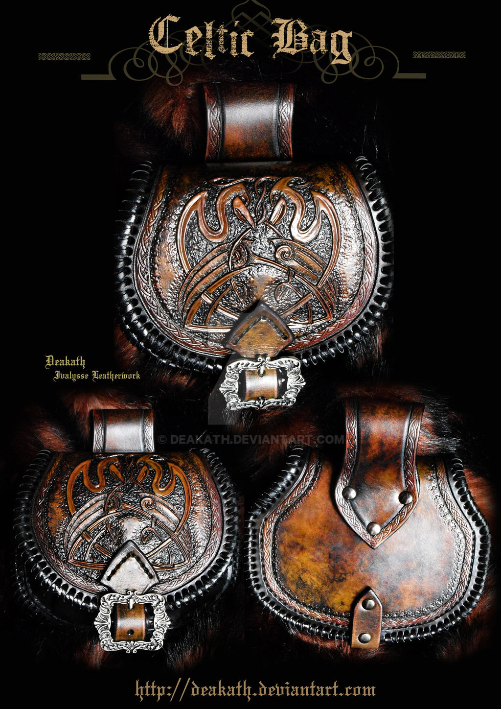 Celtic Bag - Celtic female armor set by Deakath