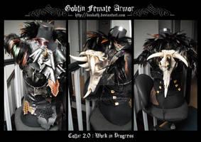 Goblin's Female Armor : Bra + collar