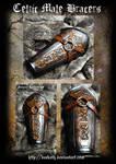 Celtic Male Armor : Bracers