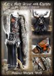 Celtic Male Armor : Warlord Minotaur WIP
