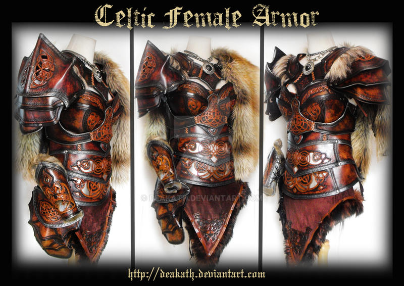 Celtic Female Armor by Deakath