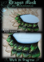 Dragon Mask : Work in progress 1