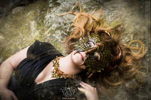 Dragon mask - Fairytales 1 by Deakath