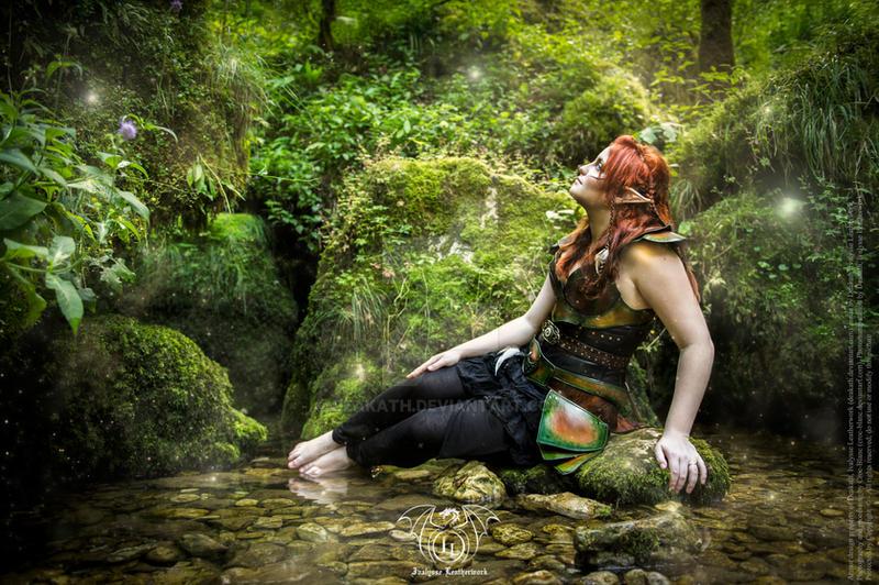 Wood elf armor - fairytales 1 by Deakath