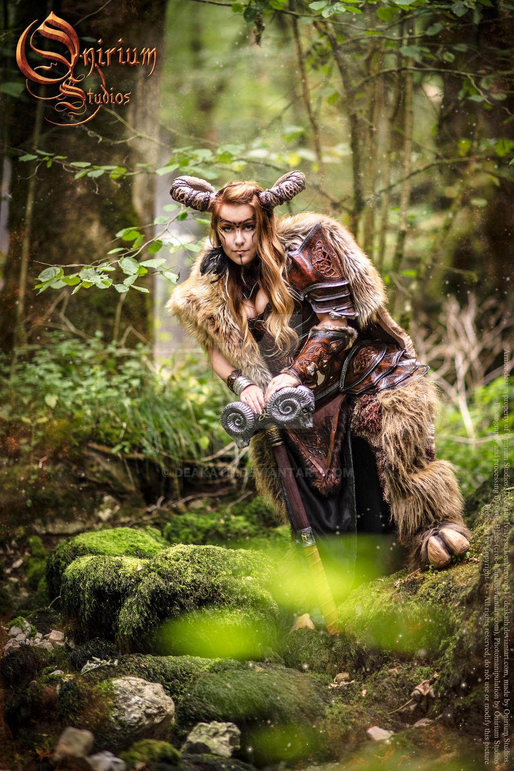 Photoshoot 2015 : Celtic battle faun 4 by Deakath