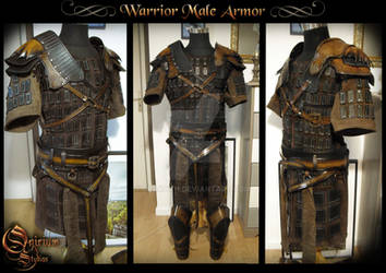 Warrior Male Armor - Servitude comic book