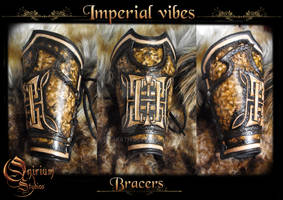 Imperial Vibes - Vambraces / bracers (FOR SALE)