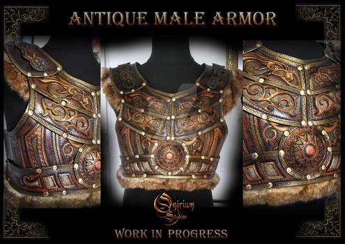 Antique Male Armor