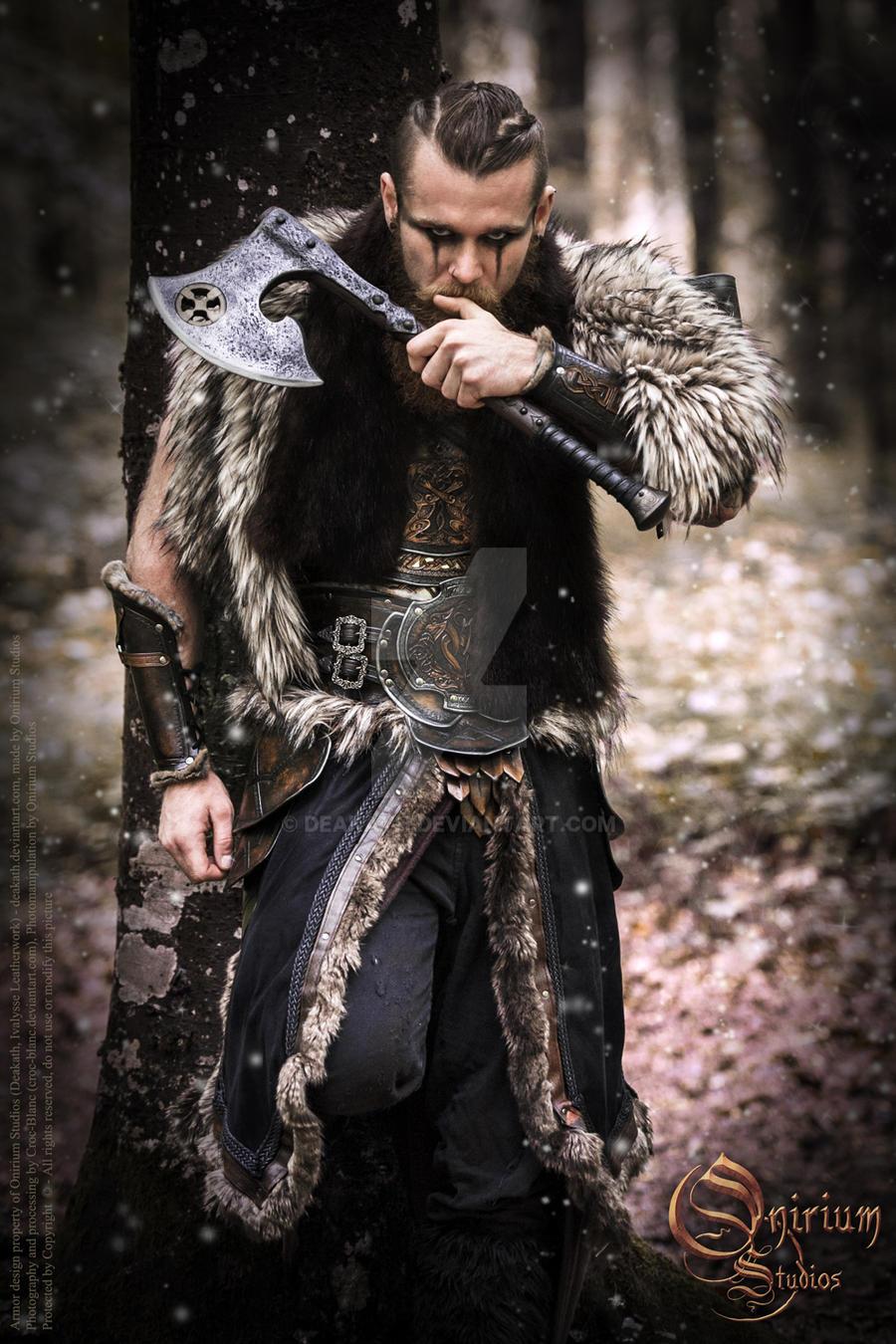Viking Inspired Calimacil Partnership By Deakath On