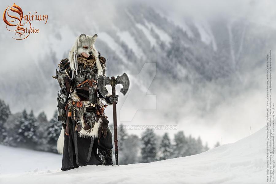 Snow Wolf - Calimacil partnership by Deakath