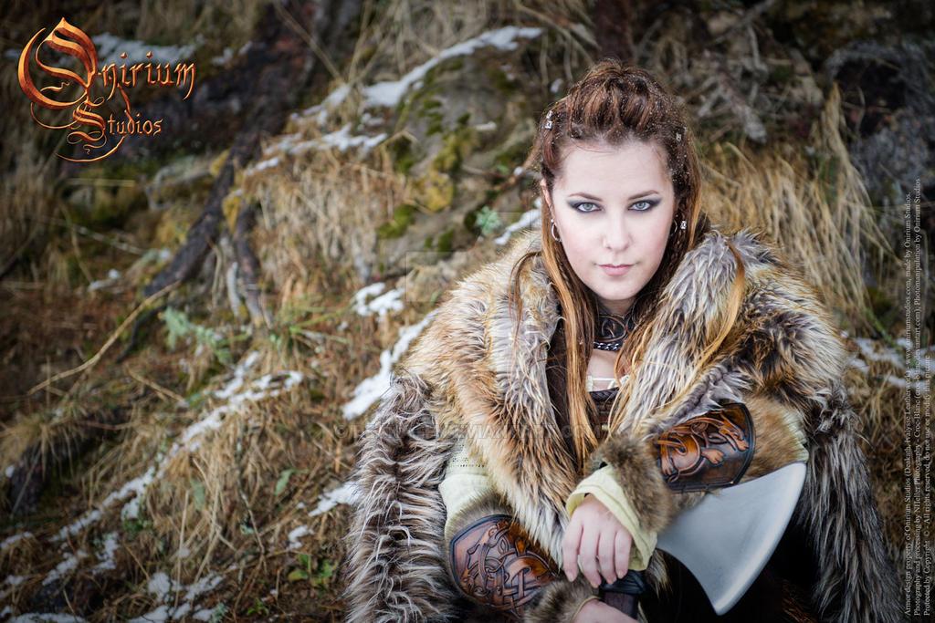 Viking inspired female set - photoshoot 2017 by Deakath