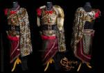 Antique male Armor set