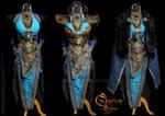 Antique female Armor set
