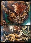 Forest Fairie : The Fox Spirit Bag WIP by Deakath