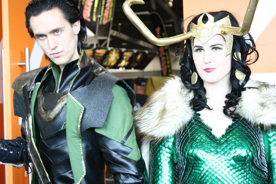 Loki and loki by Teenageher0