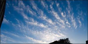 Feathery Cloud Panorama
