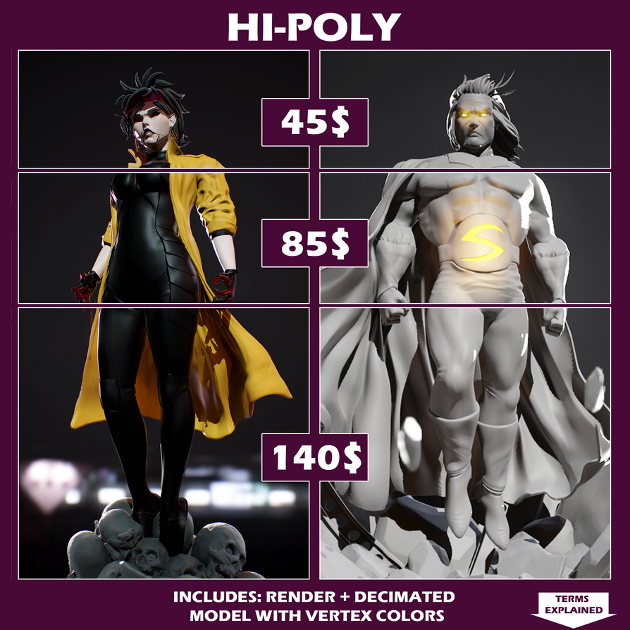 HI-Poly3 by Vederant