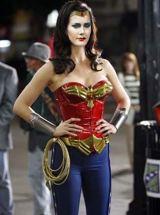 Lynda Carter as Wonder Woman Modernized by Elephant883