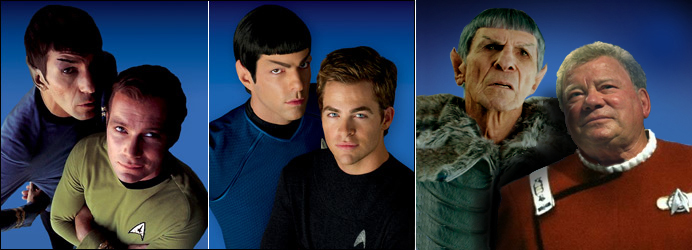 Kirk and Spock in the Nexus by Elephant883