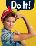Kathryn the Riveter by Elephant883