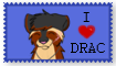 I Heart Drac - Stamp Request by WolfTwine