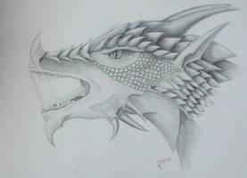 Dragon head by IrunMerkulova