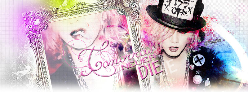 Facebook Cover   Ruki in Pink xD by PandoraGLAM