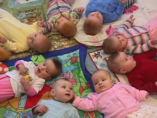 circle of babies by x eevee