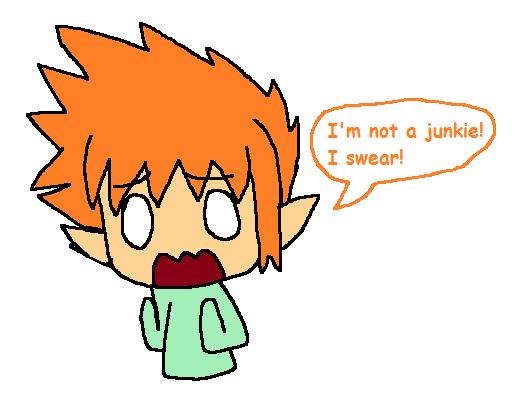 Ryan's not a junkie! by PalomPikachu