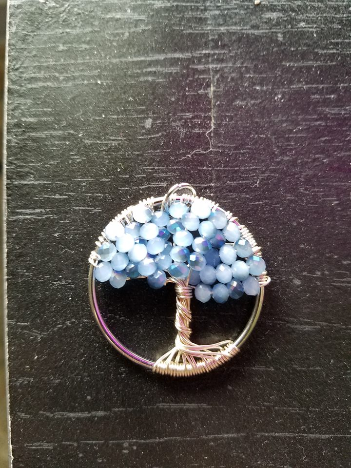 Tree of Life pendant #6 by ponygirl