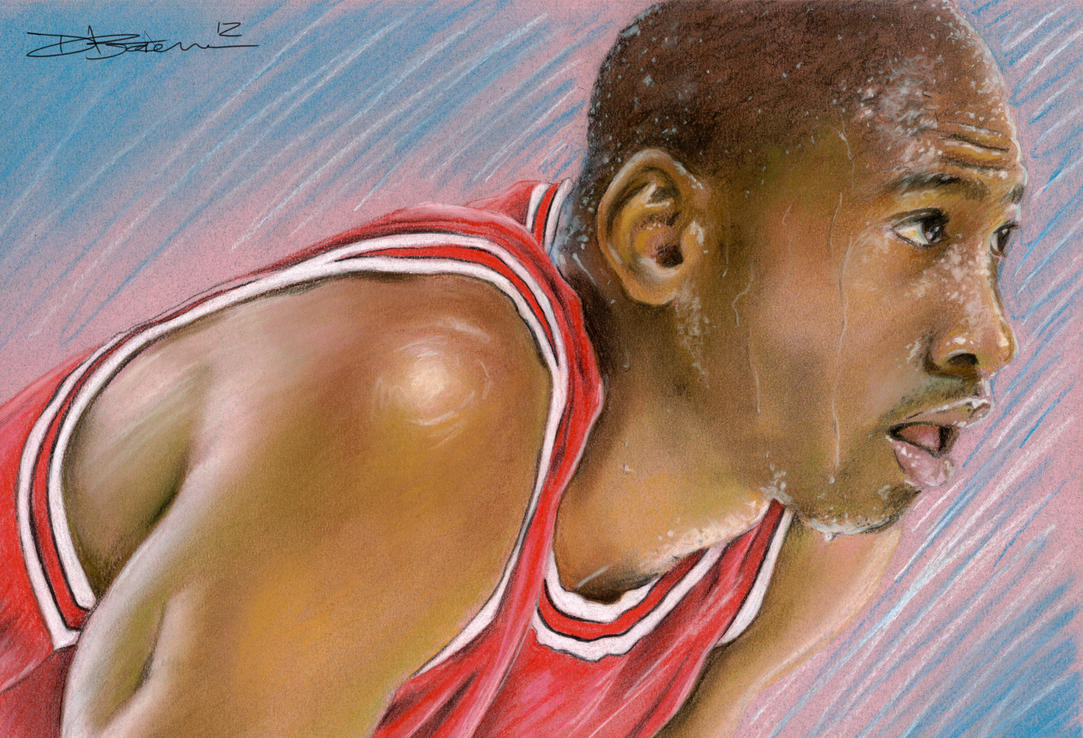 Michael Jordan by Bate-man26