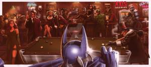 Batman Walks Into A Bar...