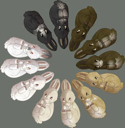bunny spectrum by lizspit