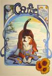 Art Nouveau Carlie