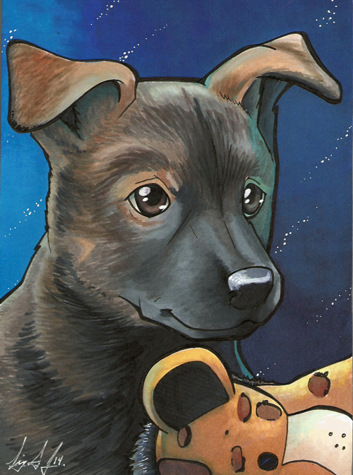 Little Pup by lizspit